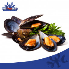 FROZEN WHOLE SHELL CHILIE MUSSEL 1KG 冷冻全壳智利青蚝